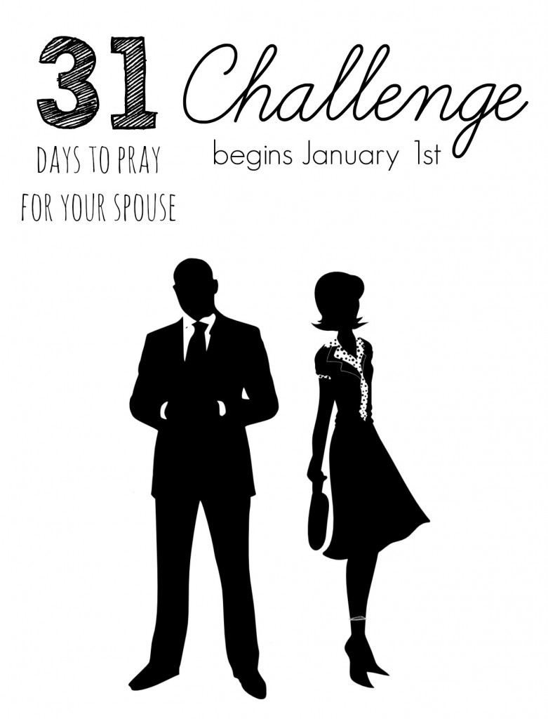 31 Days to Pray for Your Spouse Challenge FB Teaser