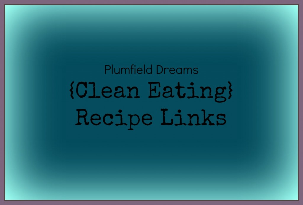 {Clean Eating} Recipe Links ~ Plumfield Dreams