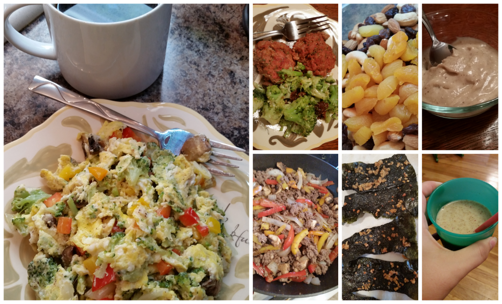 Whole 30 Meals & Snack - Wk 1